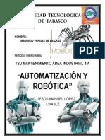Antecedentes de la robotica