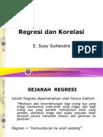 (6)Regresi Korelasi