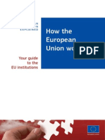 How the European Union Works