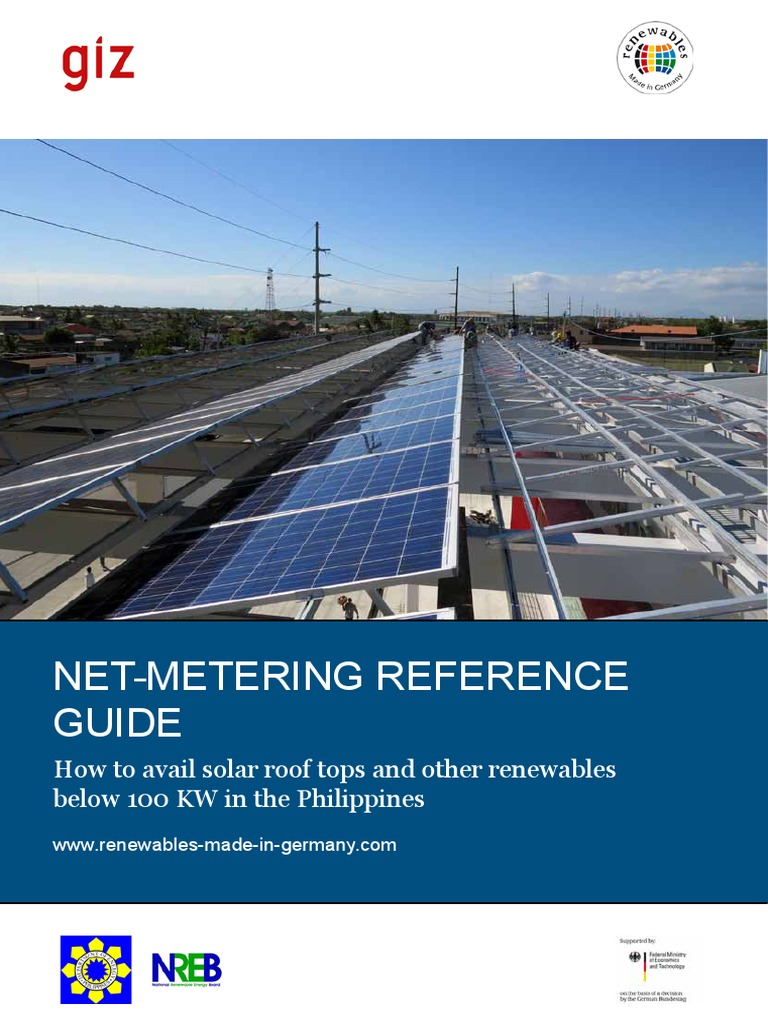 Net Metering Reference Guide Philippines | Photovoltaics | Physical