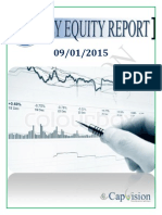 Daily Equity Report 09-01-2015