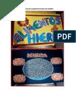 Anexo 5 - Album de Alimentos Ricos en Hierro
