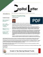 Capital Letter January 2014-Fundsindia.com