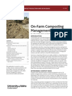 On-Farm Composting Managment