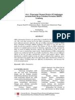 Jurnal Otomasi Kantor Di Lingkungan Instansi Pemerintah