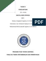 Digital Rock Physics