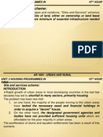 Housing Programmes in India