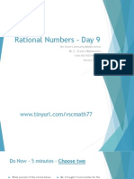Lesson #37 - Writing and Interpreting Inequalities (Rational Numbers)