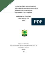 Skripsi Metode Analisis Regresi Logistik. (Studi Kasus Kelas x Sma n 3 Bukittinggi).