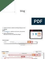 pasos para blog