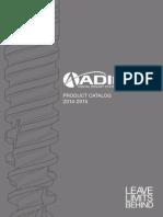Adin Implant Catalog 2015