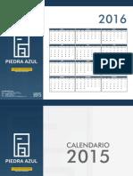 Calendario Pared Modificado
