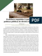 Prefeitura engatinha (e patina) nas políticas públicas de direitos dos animais