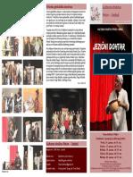 Jezični dohtar v Pekrah - gledališki list