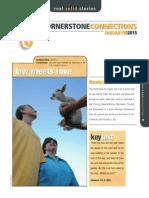 1st Quarter 2015 Lesson 2 Cornerstone Connections