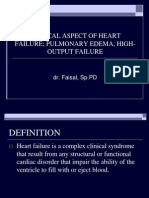 Clinical Aspect of Heart Failure