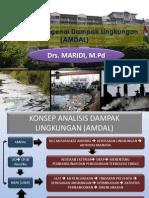 Analisis Mengenai Dampak Lingkungan AMDAL Maridi P.bio UNS