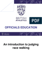 Officials Education - Race Walking Only