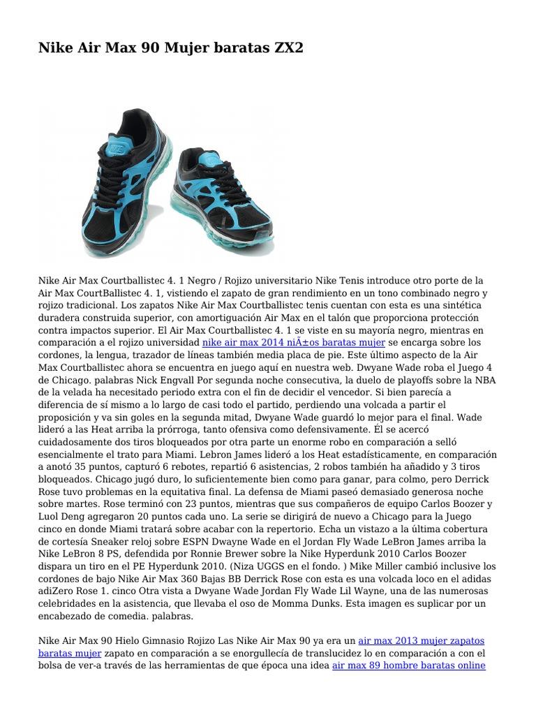 5ff3647b095 Nike Air Max 90 Mujer baratas ZX2