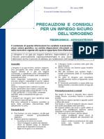 ASSOGASTECNICI - Scheda Sicurezza Idrogeno Gassoso