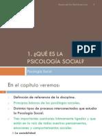 1. Qué Es La Psicología Social