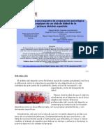 Desarrollo de Un Programa de Preparación Psicológica