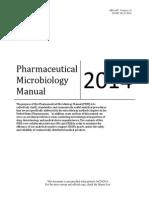 Pharmacuetical microbiology manual 2014.pdf