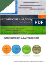 introduccion a la pedagogia