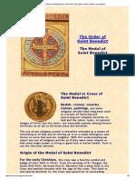 Bendict Cross Symbol Explaination
