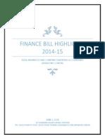 FMC Finance Bill 2014 15