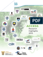 ACCESS Research Highlights 2013