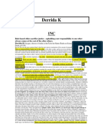 Derrida Kritik