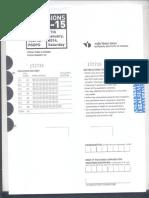 Sample Test Paper for M.des