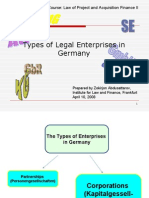 Corporate Entities in Germany