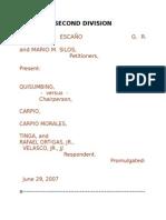 Escano v Ortigas