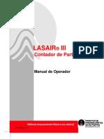 Contador Particula LASAIRIII Manual Portugues
