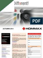 201410 Hommax Tarifa Octubre 2014