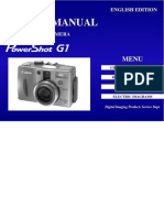 Canon PowerShot G1 service manual