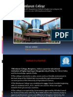 Best College of Engineering in Bangalore