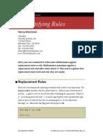 Nancy Blachman - Mathematica Journal - Demystifying Rules [2002] [p18]