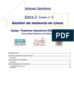 Gestion Memoria Linux