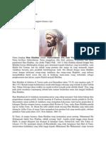 Riwayat Hidup Ibnu Khaldun