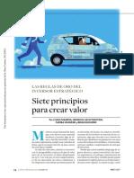 IESE-Inversiones Financieras-7 Principios Para Crear Valor
