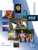 Scripture Union Annual Report 2013-14