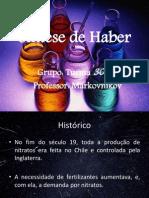 Síntese de Haber-Bosch