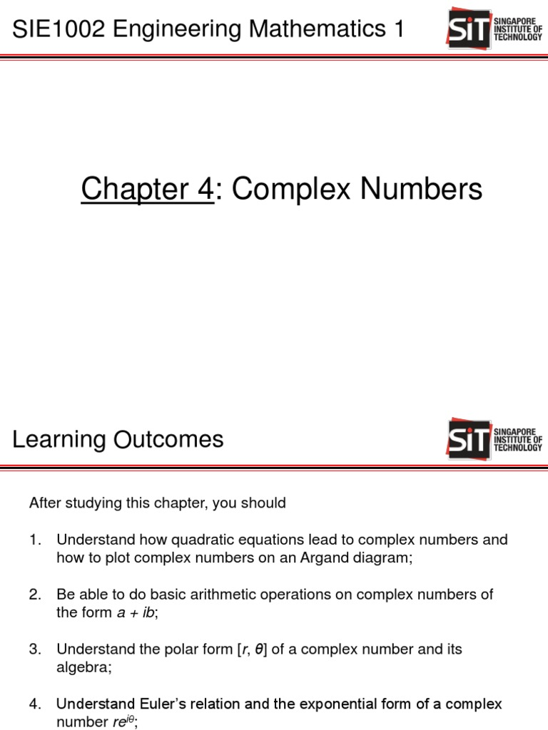 Chapter 4 Complex Numbers | Complex Number | Numbers