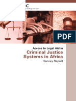 Survey Report on Access to Legal Aid in Africa
