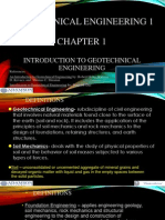 Geotechnical Engineering Lecture 1