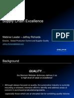 Supplier Quality Webinar