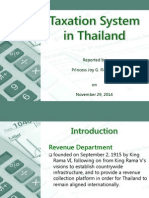 Thailand Personal Income Tax